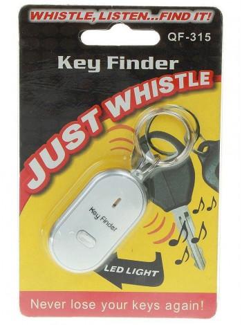 Брелок для поиска ключей, отзывающийся на свист