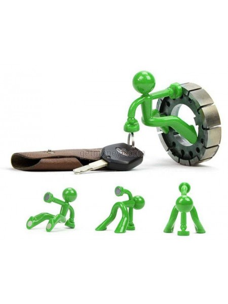 Магнитный человечек-держатель для ключей