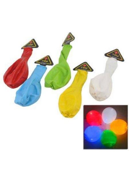 Воздушные шарики со светодиодной подсветкой (5 шт.)