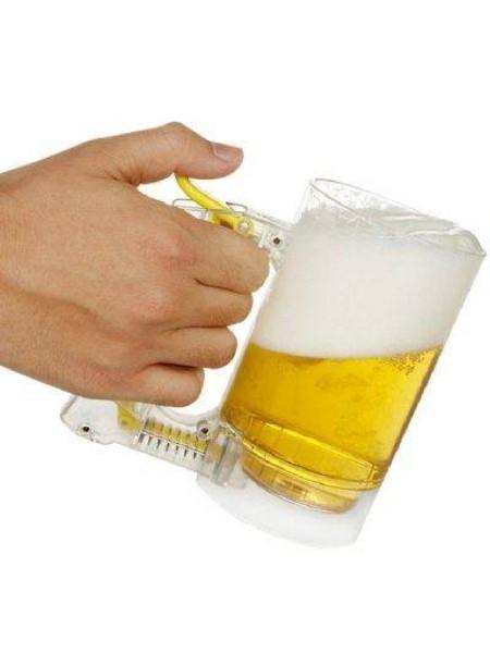 Маленькая пена в пиве? Тогда пивная кружка Брандо Вам поможет!