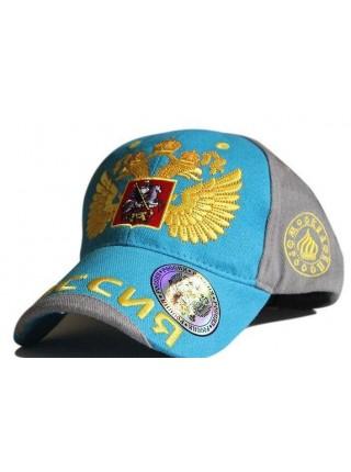 Спортивная бейсболка с гербом Russia