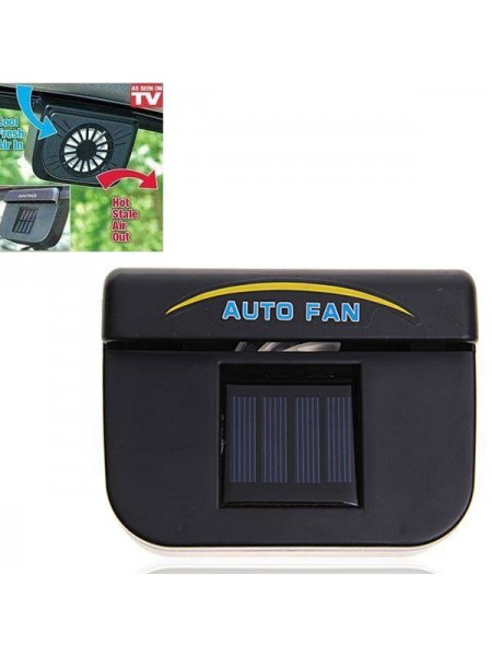 Автомобильный вентилятор с питанием от солнечной батареи